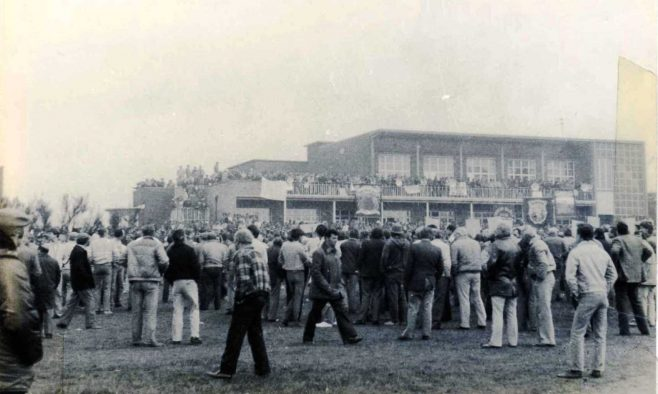 Notts NUM Working Miners Rally - Berry Hill Park - 1st May 1984
