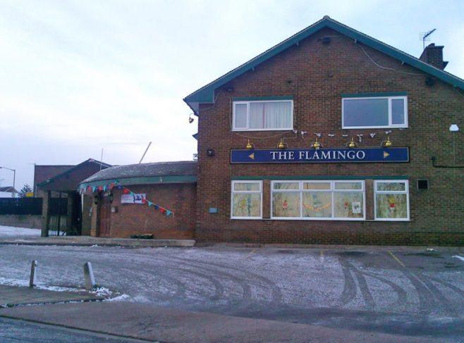 The Flamingo, Oak Tree Lane, December 2010 | E. Thomas