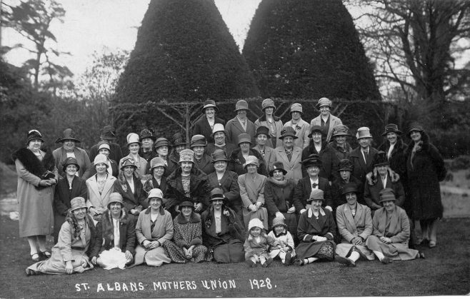 Mothers Union Outing 1928