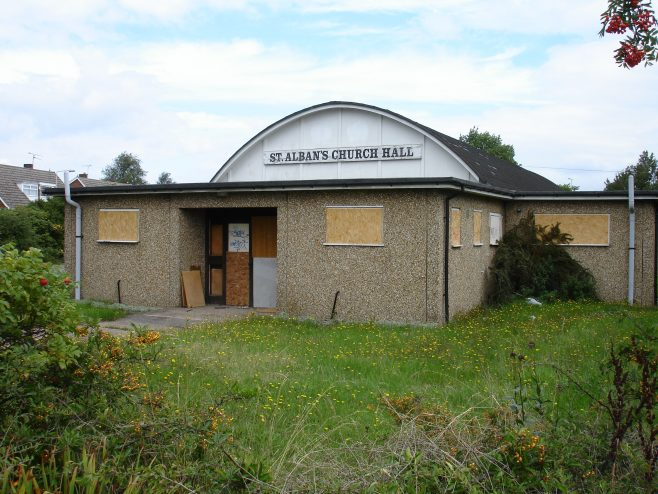 Church hall closed in 2002