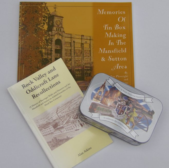 Mansfield Metal Box Book Offer