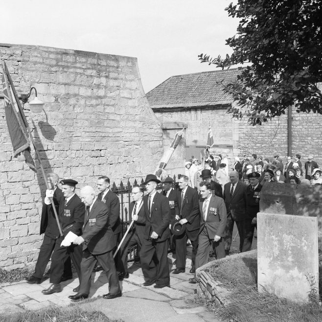 Mansfield Woodhouse - British Legion Parade 1965 | Chad 13140