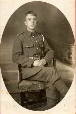 Private L W Mellors 1915