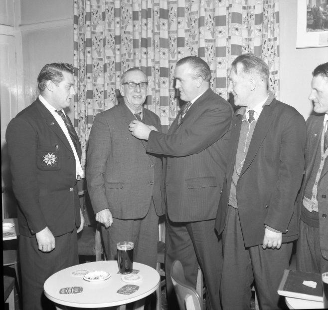 Pleasley - British Legion Presentation 1962 | CHAD 1942