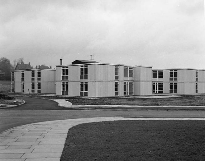 The new Daleside Elderly Peoples Home | Chad 1956