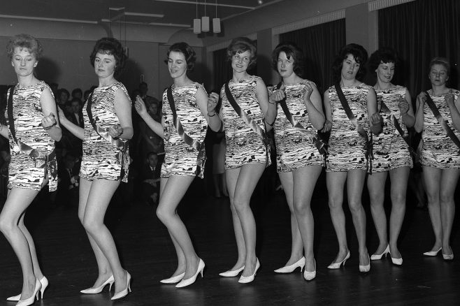 Mansfield GPO telephonists cabaret 1963 | Mansfield Chad