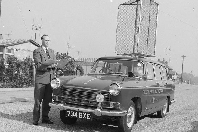 TV Detector Van 1963 | Mansfield Chad