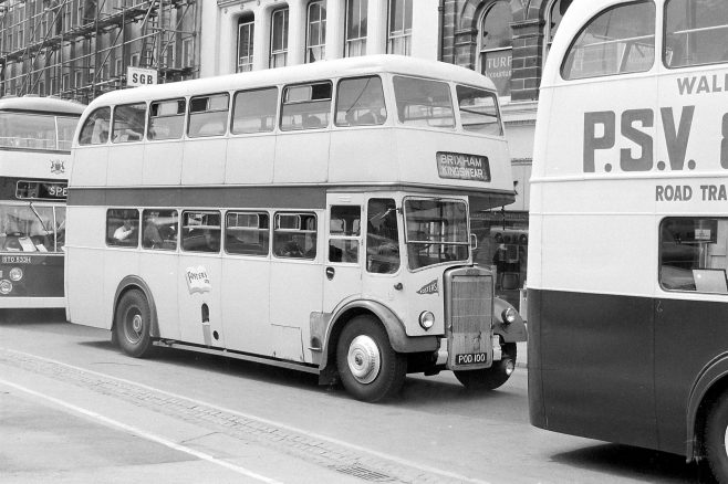 Old Bus Parade 1970 | Mansfield Chad