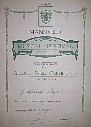 Mansfield Music Festival 1948