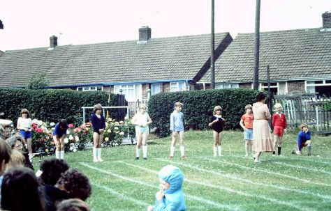 Heathlands First School, Rainworth. Sports Day c1981.