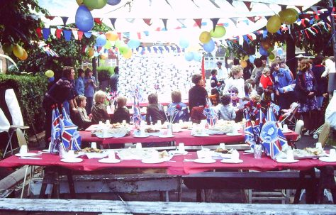 Rainworth Silver Jubilee 1977, Street Party and Heathlands.