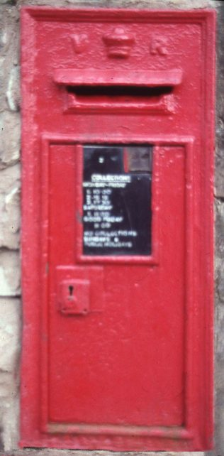 Victorian Wall Box in Mansfield - not the one mentioned