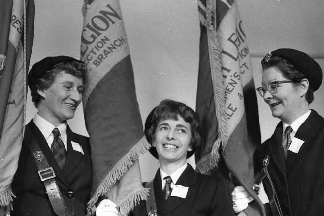 NO 1 - British Legion Women' Section Standard Competiton - 1967 | CHAD 24521
