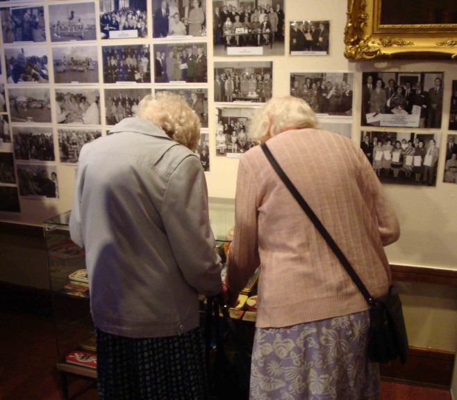 Memories for two elderly ladies who worked at Metal Box.
