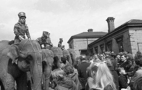 When the Circus Came to Town May 1968