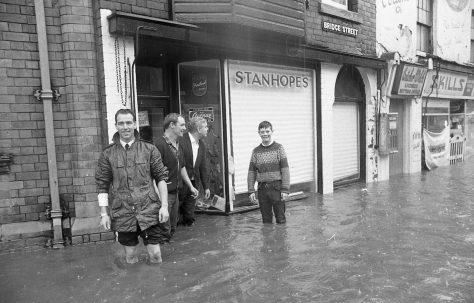 Mansfield Flood July 1968