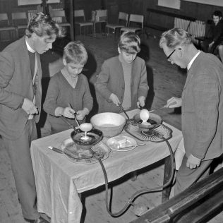 Children Pancake making | CHAD 35723 (Feb 1970)