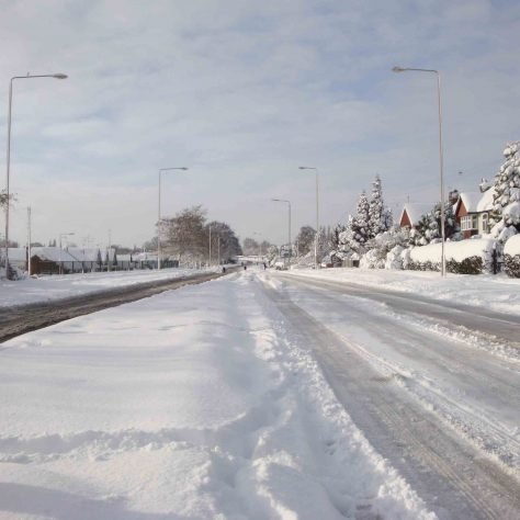 Clipstone Road West looking towards Mansfield | P Marples