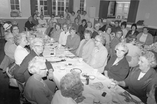 Clipstone - Women's British Legion tea 1971 | CHAD 509-2