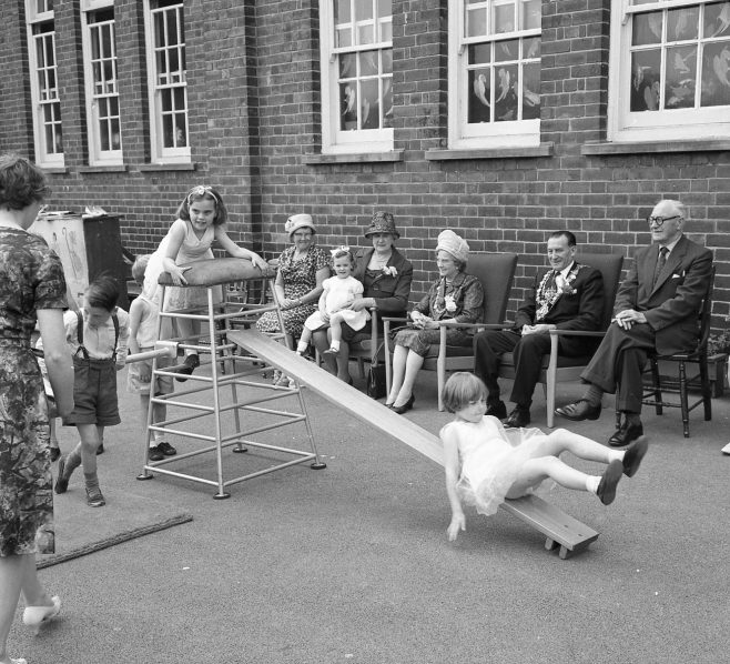 No 8 Broomhill Infants School Open Day 1964 | CHAD 7672