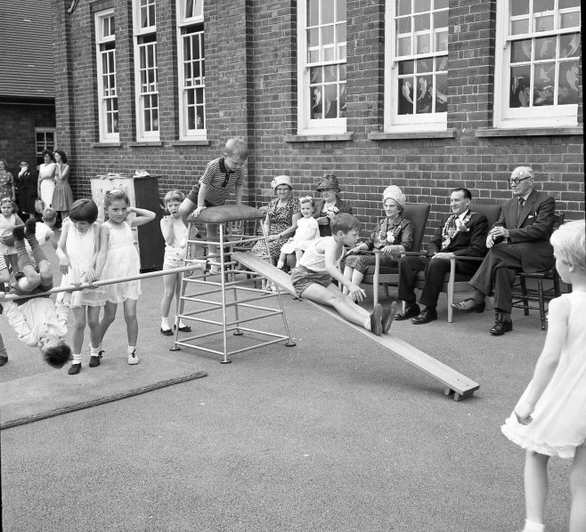 No 9 Broomhill Infants School Open Day 1964 | Chad 7674