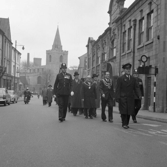 Mansfield -British Legion Remembrance Service 1964 | CHAD 8968