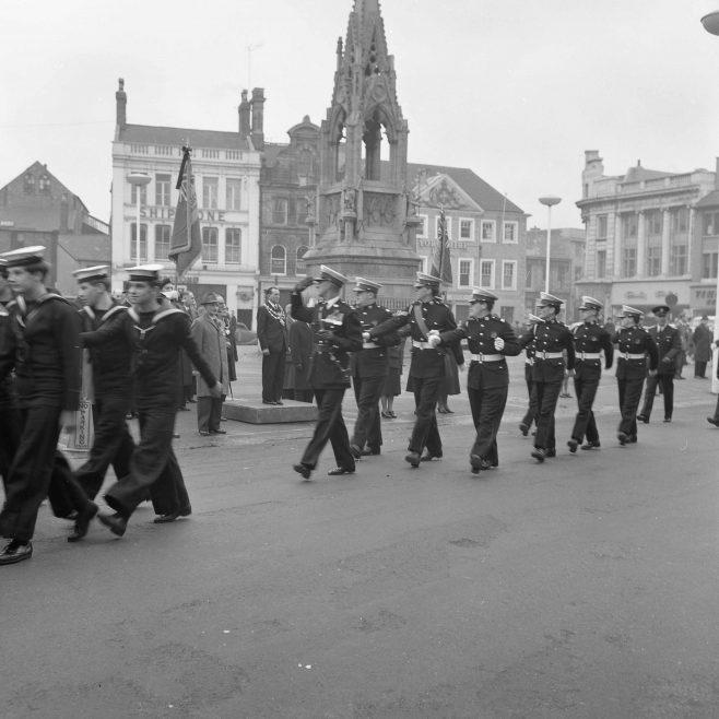 Mansfield -British Legion Remembrance Service 1964 | CHAD 8970