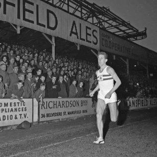 John Whetton at Field Mill Football Ground, Mansfield 1964   CHAD 9240