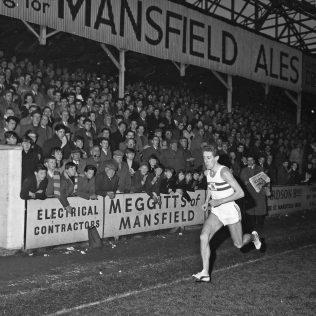 John Whetton at Field Mill Football Ground, Mansfield 1964   CHAd 9242