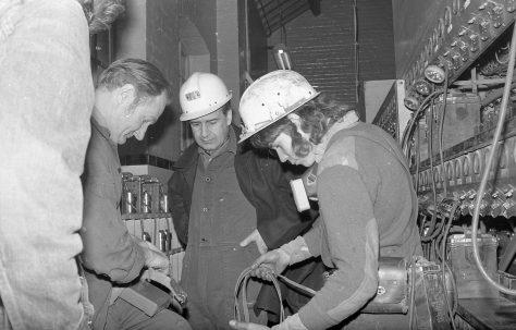 Clipstone Colliery a visit by Derek Ezra