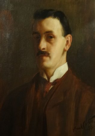 Albert Sorby Buxton | From a painting in Mansfield Museum reproduced with their permission.