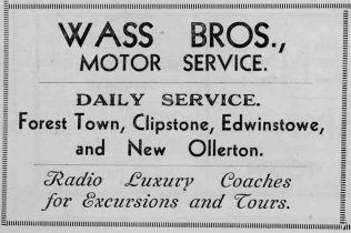 Wass Bros., one of the early local bus operators | Private collection