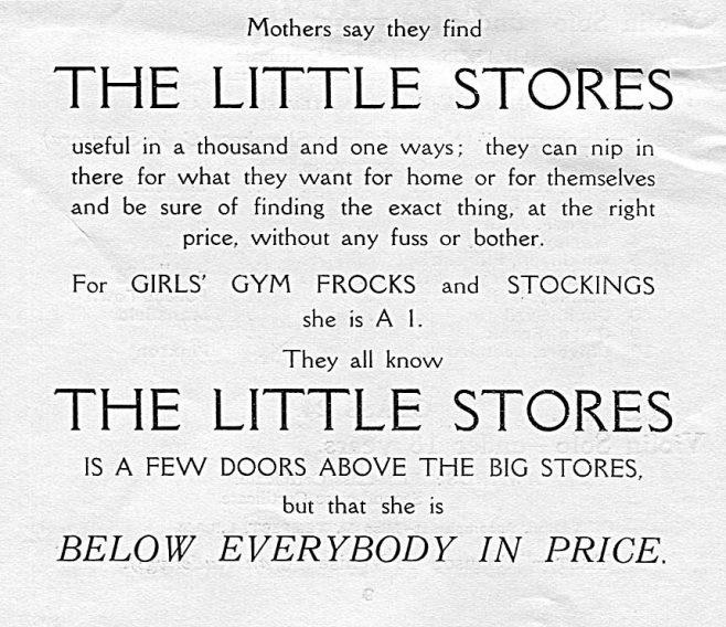 1929 Advert