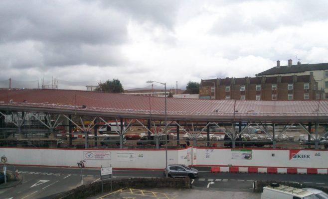 Mansfields new Bus Station in progress