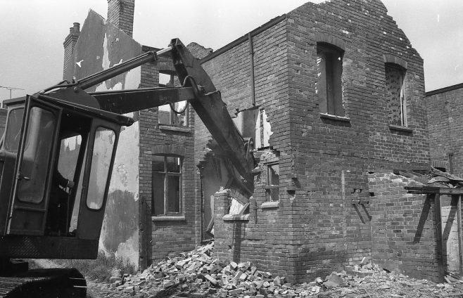 Demolition Newcastle Street | Chad B+1869 18