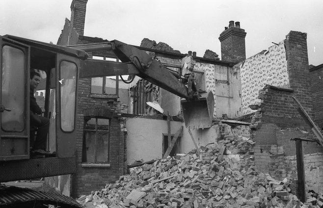Demolition Newcastle Street | Chad B+1869 21