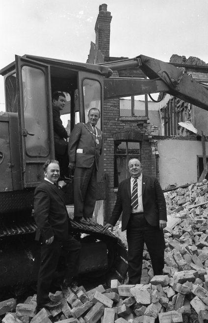 Demolition Newcastle Street | Chad B+1869 23