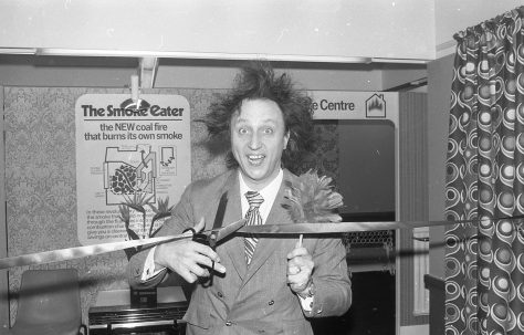 Ken Dodd at Mansfield Co-op