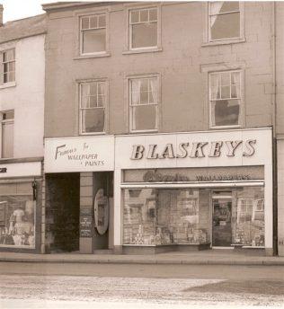 Blaskeys Wallpaper & Paint, Market Place Mansfield.