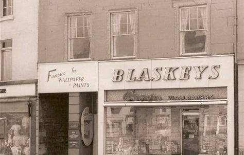 Blaskeys Wallpaper & Paint, Market Place Mansfield.