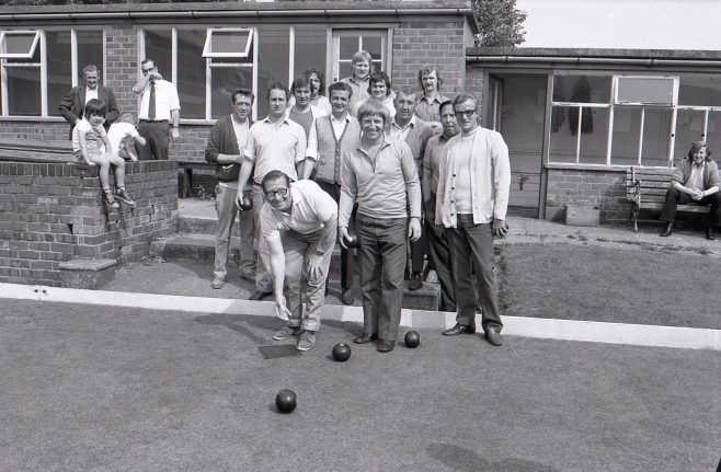 Bowls Match at Langwith Miners Welfare 1973 | Mansfield Chad