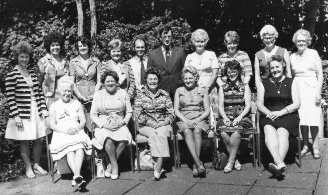 Brewery Visit 1976