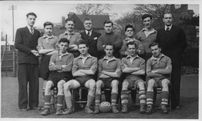 1950 again.  As the headmaster is there in the centre, perhaps this is the 1st XI.  Someone might know.
