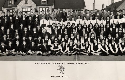 Brunts School November 1956