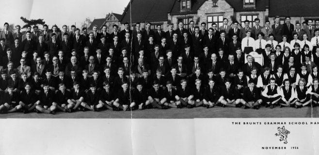 Brunts School November 1956