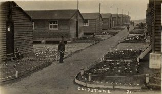 When Soldiers Huts had Gardens! | P Marples Collection