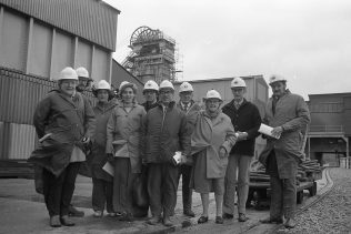 Visitors at Mansfield Colliery | CHAD C5393-15