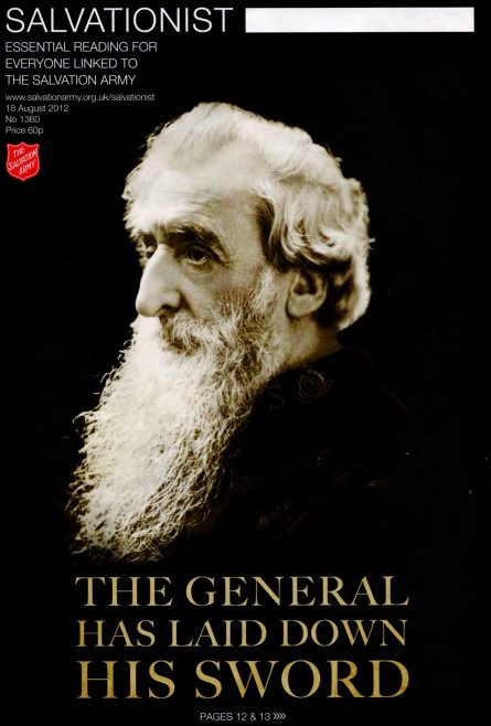 General William Booth | With acknowledgement to Leanne Ruthven (Major) for permisson to reproduce this picture