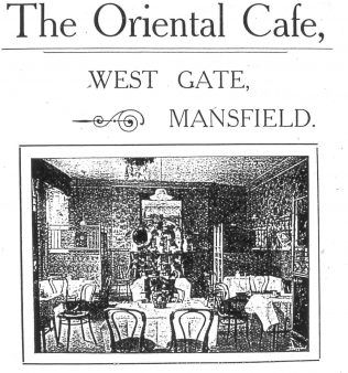 A cafe that extended its premises to accommodate soldiers