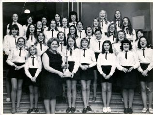 The Choir was successful at Blackpool in 1971